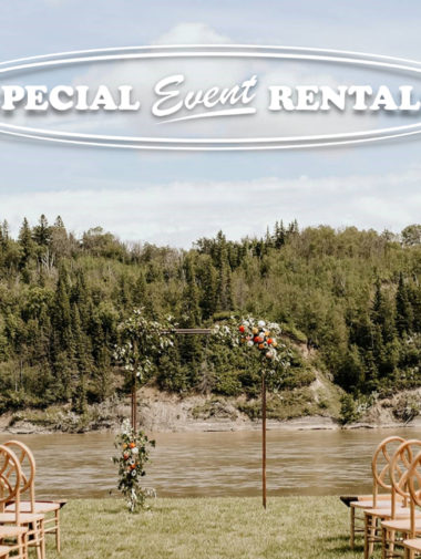 Special Event Rentals outdoor Wedding Ceremony