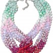Swarovski Glamour Mint Necklace