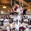 Centrepieces, Vintage wedding