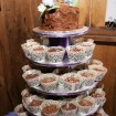 Cupcakes, Rustic wedding