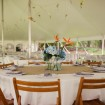 Reception, Garden wedding
