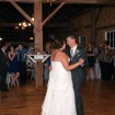 First dance, Rustic wedding