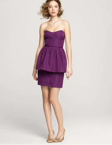 JCrew Purple Bridesmaid Dress