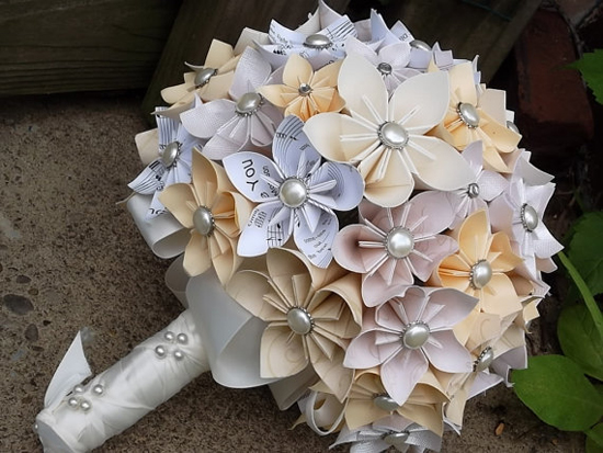 Gallery For Origami Flowers Wedding