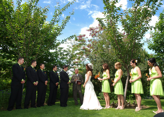 lime green and orange wedding ideas your color story choosing your