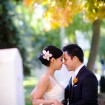 Bride and groom, Fall wedding