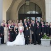 Bridal party, Pink wedding