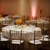 Reception, Fall wedding