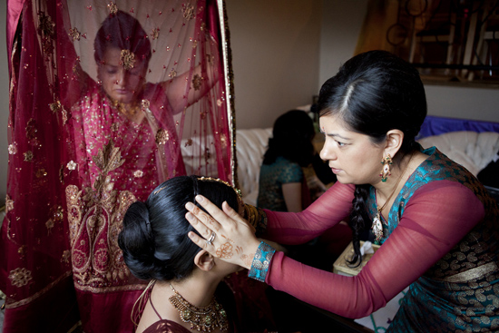 Getting ready, Indian wedding