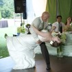 First dance, Backyard wedding
