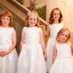 Junior bridesmaids, Garden wedding