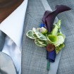 Boutonniere, outdoor wedding