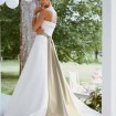 Pleated Satin Bridal Sash