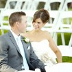 Bride and groom, Romantic wedding