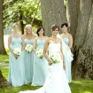 Bridal party, Romantic wedding