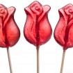 Rose lollipops