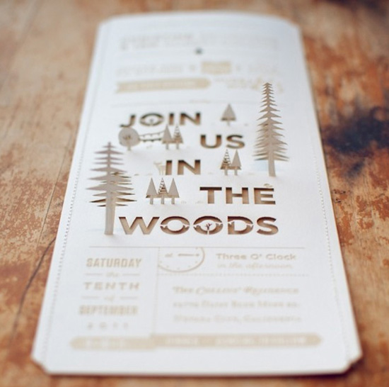 1 comment - Outdoor Wedding Invitations