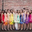 Rainbow Bridesmaids
