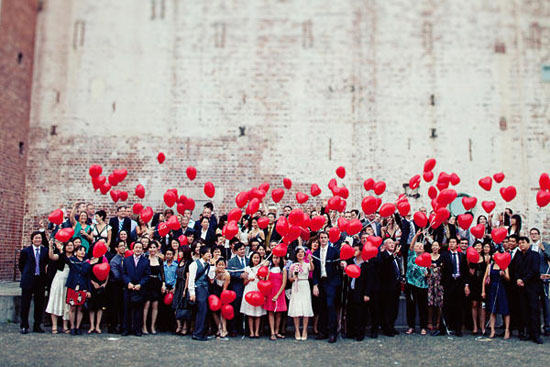 18 Unique Ways To Work Balloons Into Your Wedding