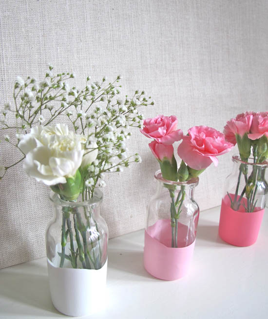 Weekend wedding project make your own lilliputian dipped vases weekend wedding project make your own lilliputian dipped vases weddingbells junglespirit Choice Image