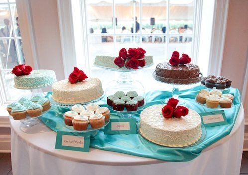 delectable and stylish dessert table ideas weddingbells