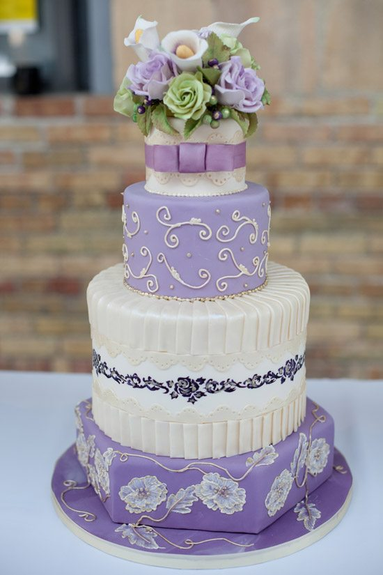 wedding cake lavender color wedding cake 20 new takes on classic designs weddingbells 23064