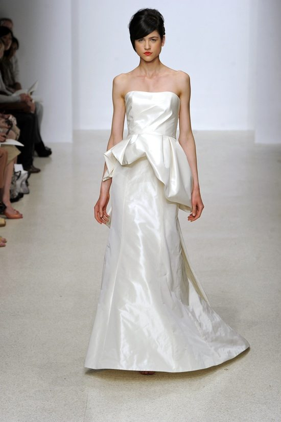 Peplums: The Bridal Fashion Trend Everyone is Talking About