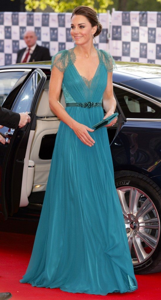 Kate Middelton Steps Out In The Updo Of Summer Weddingbells