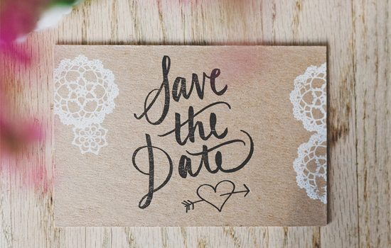 Rustic Save-the-Date
