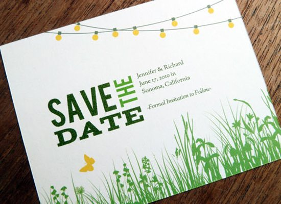 Save The Date Event Templates Save-the-date from e.m. papers