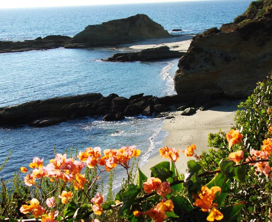 how to get to crystal cove arch