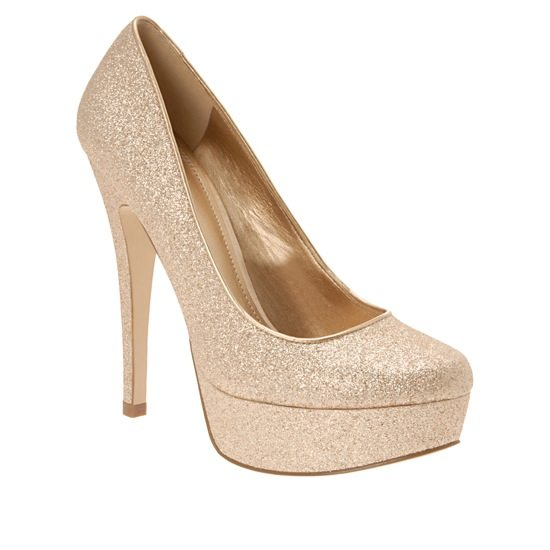 Bridal Shoes Aldo: 10 Ways To Work Gold Into Your Wedding Day