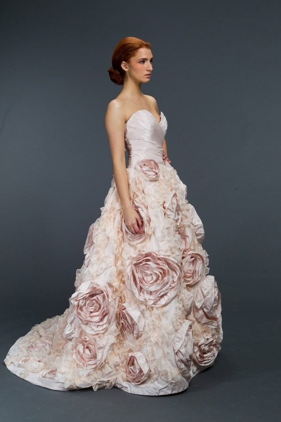 Romantic Floral Wedding Gowns Youll Swoon Over