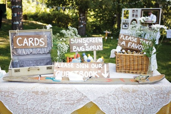 Inventive wedding signs to decorate your venue weddingbells for Wedding table sign ideas