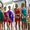 Colourful bridesmaids