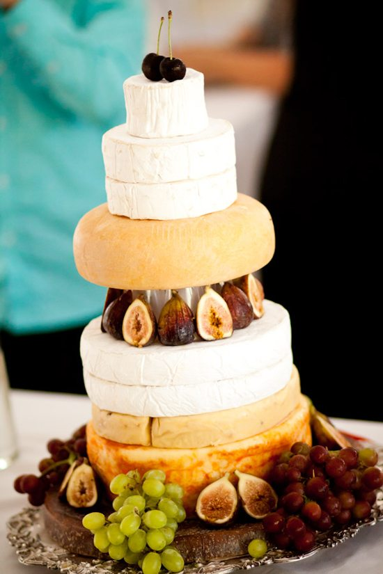 Wedding Cakes Made Of Cheese. Yes, Cheese! | Weddingbells