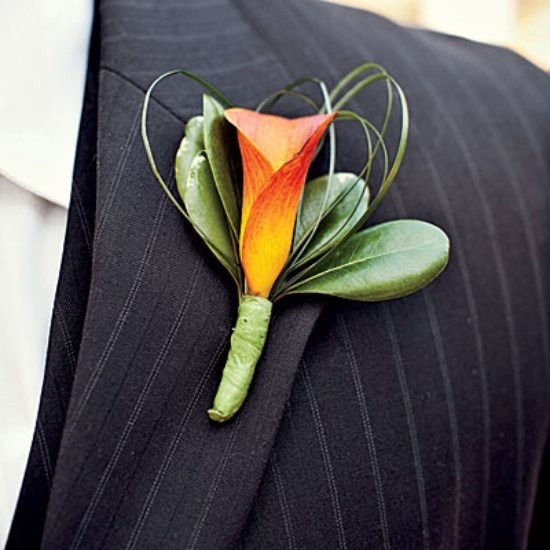 Fall Wedding Boutonniere Ideas: Boutonnières For Fall Weddings