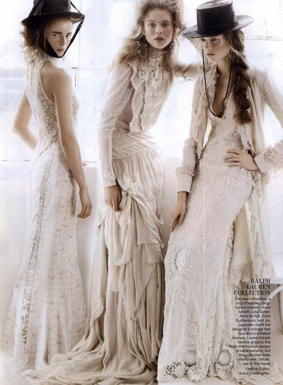 Vogue weddings 15 iconic photos from the definitive guide for Wedding dress steaming near me
