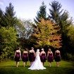 bride-with-bridesmaids-trees