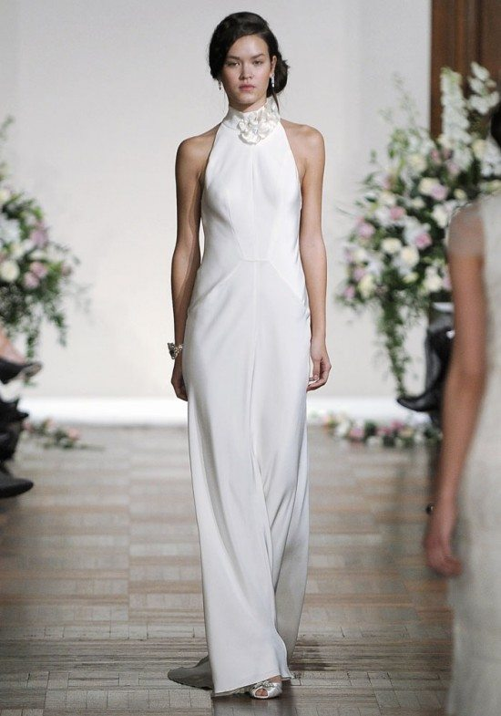 Sleek And Simple Wedding Gowns For The Modern Bride