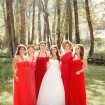 Poppy Red Bridesmaids