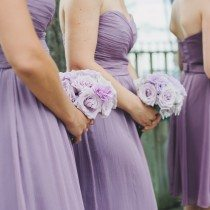 A Pretty Purple Wedding In Gravenhurst, Ontario