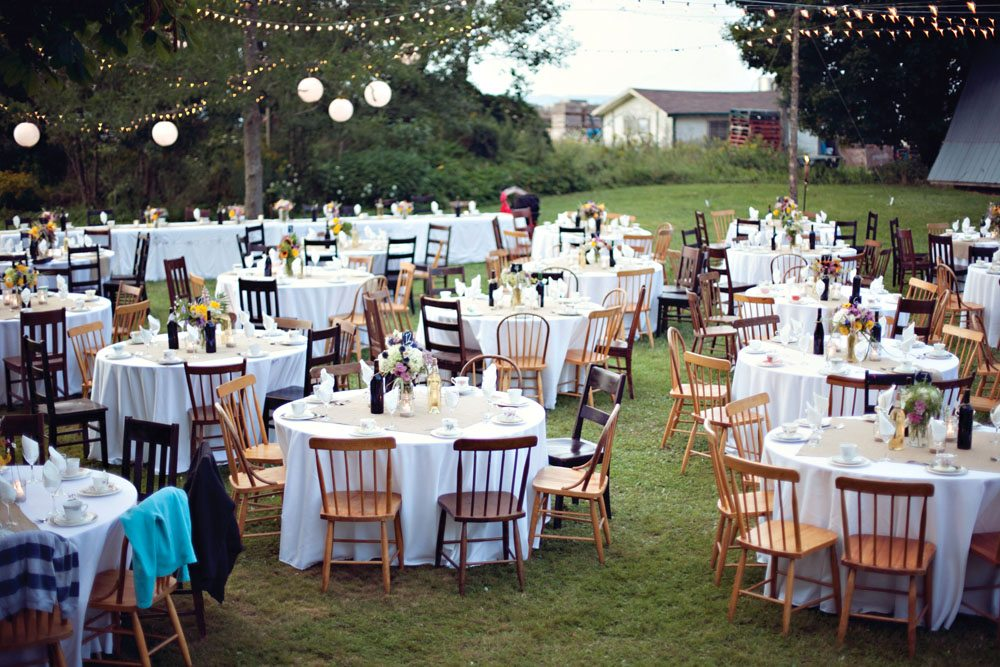 A Rustic Backyard Wedding In Port Williams Nova Scotia