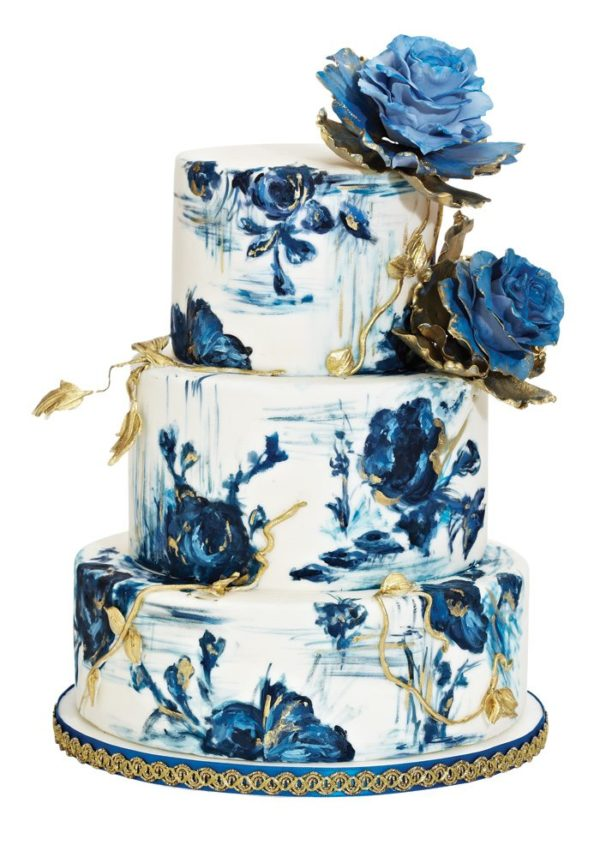 Wedding Trend: Painted Cakes