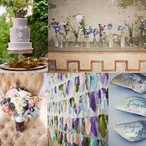 5 Fresh Ways to Style Your Purple Wedding
