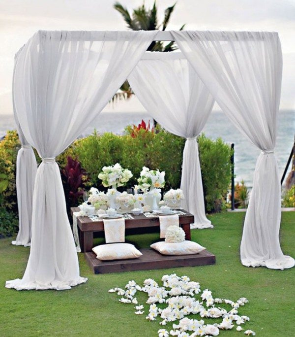 Outdoor wedding decor ideas destination wedding decoratio for Wedding decorations and ideas