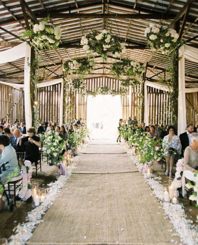 Aisle Runner Ideas for Your Wedding Ceremony  Weddingbells