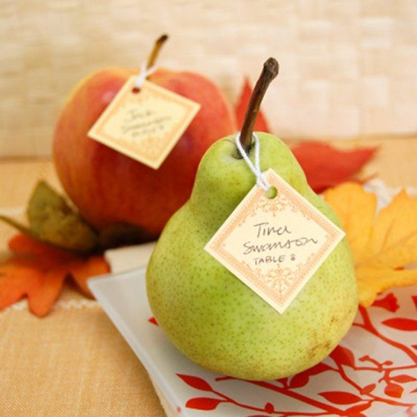 fruit place cards