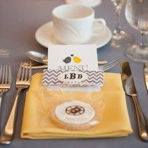 A Yellow and Black Wedding in Fredericton, New Brunswick