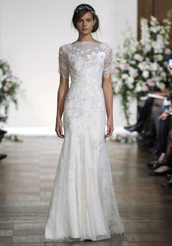 Lace bridal dresses 50 fashionable options for your day for Jenny packham wedding dresses 2013
